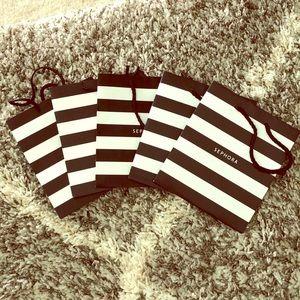Five Sephora Bags